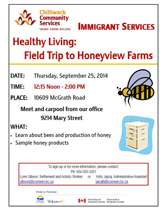 UPCOMING PROGRAMS AT IMMIGRANT SERVICES