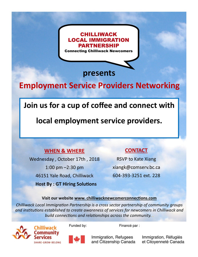 Employment Service Providers Networking
