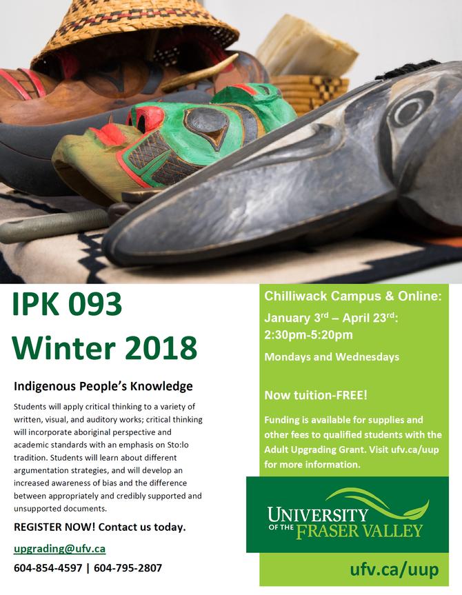 Winter Course 2018