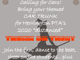 Calling for Trunks or Treat cars!