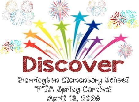 PTA 2020 Spring Carnival is coming soon!