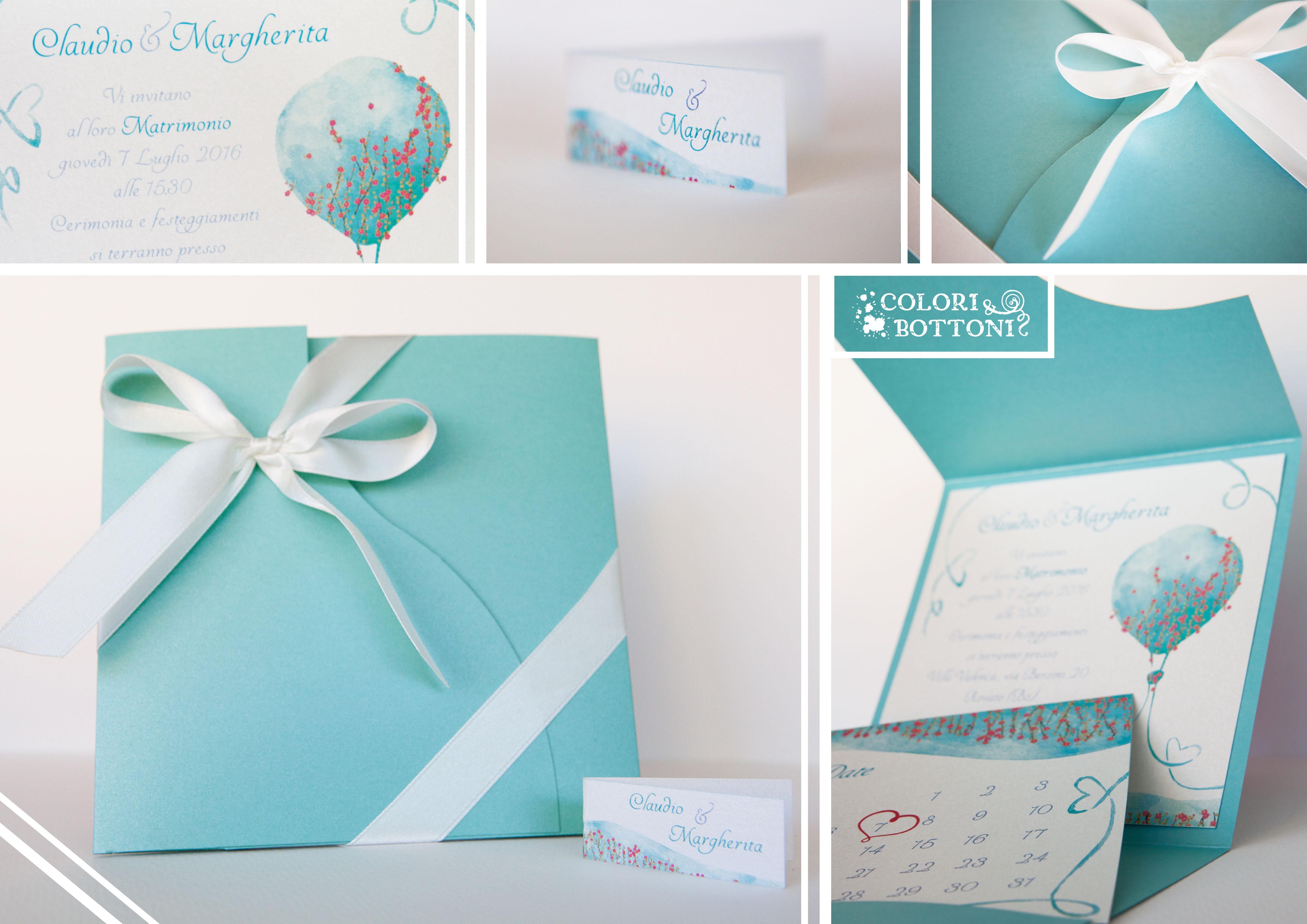 Partecipazioni Matrimonio Tiffany On Line.Partecipazioni E Bomboniere Lombardia Colori Bottoni