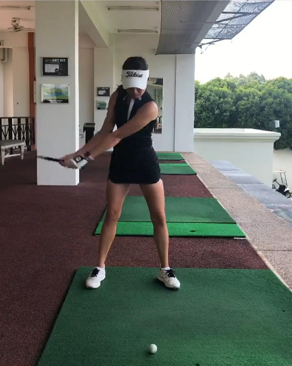 video, golf swing, practice, TPC Kuala Lumpur