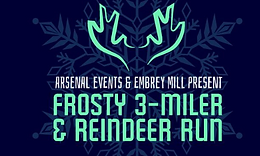Frosty 3 Miler and Reindeer Run