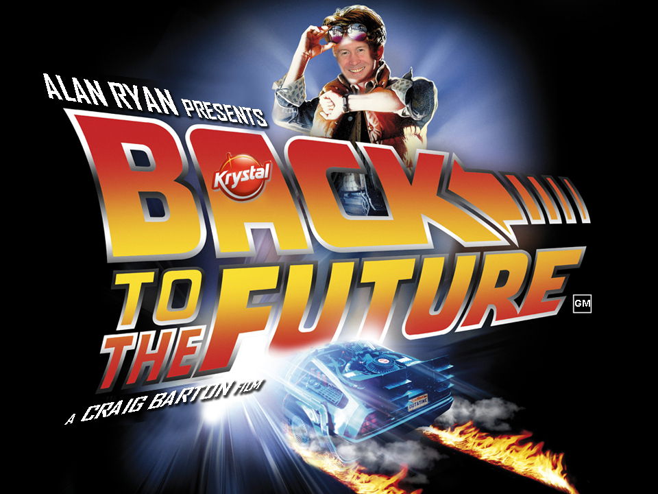 Back to the Future Corporate Event