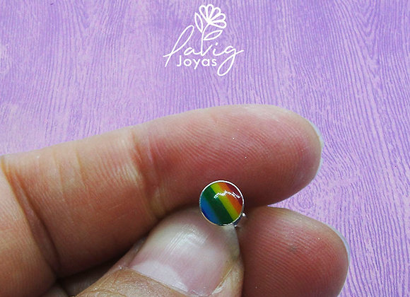 Aro single rainbow