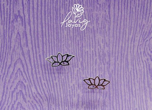 Aros flor de loto