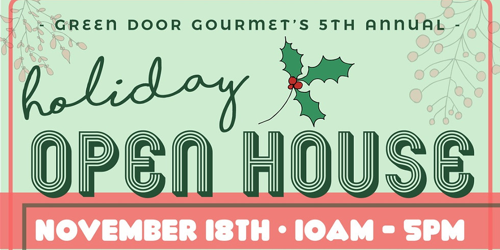 Holiday Open House - Just Added: Free Cooking Classes!