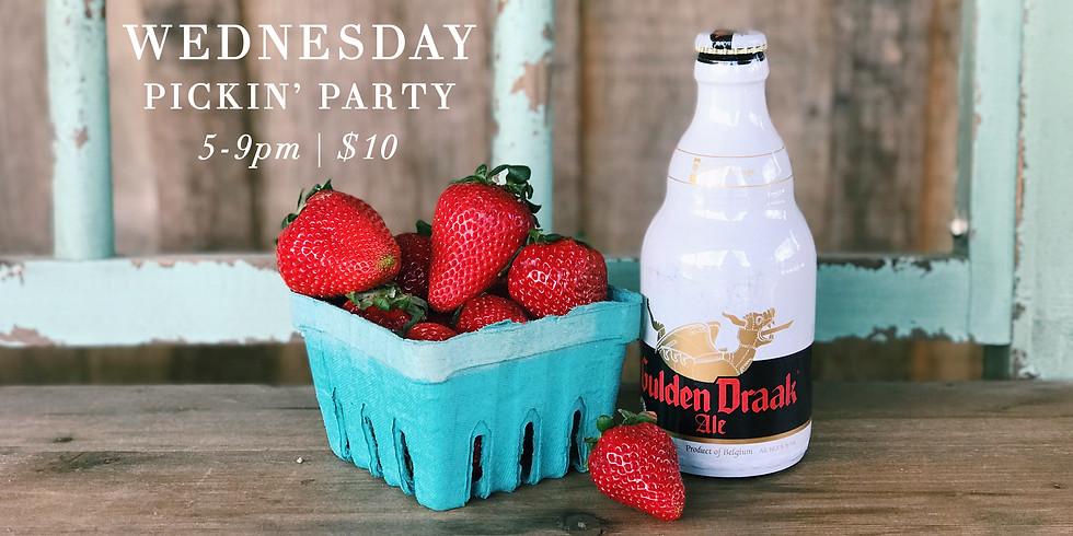 Strawberry Pickin' Party