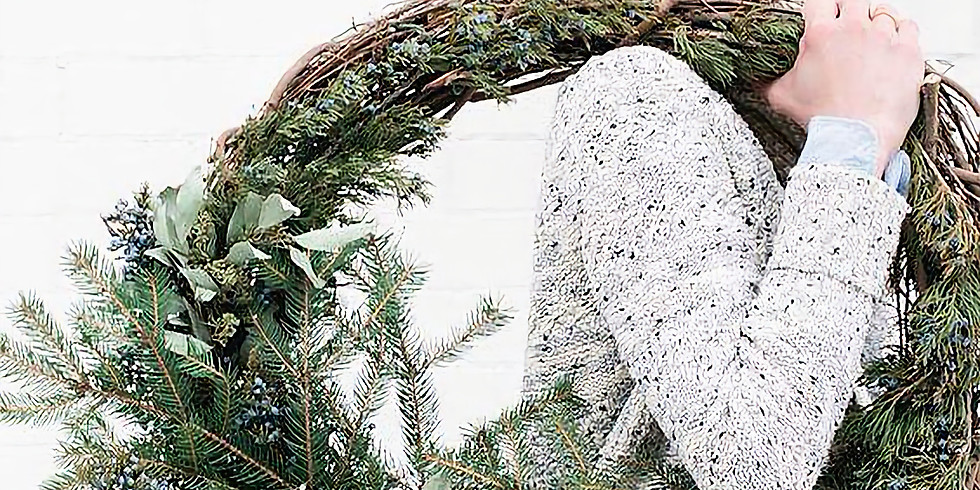 SOLD OUT - Holiday Wreath Workshop