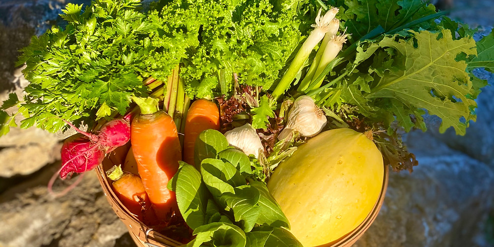 Local Farm Box - Pickup Saturday 1/16 & Sunday 1/17