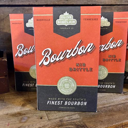 Olive & Sinclair Bourbon Nib Brittle