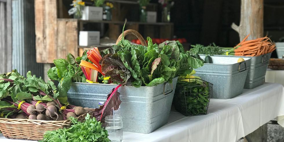 Spring Market Basket -Pick Up Saturday, May 2nd or Sunday, May 3rd