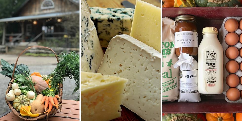 Local Farm Box, C(heese)SA, AND/OR Thanksgiving Provisions Box - Pickup 11/17 - 11/21