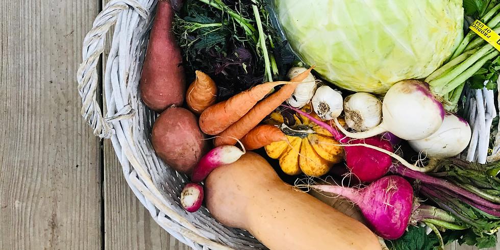 Local Farm Box AND/OR C(heese)SA - Pickup Saturday 12/22 OR Sunday 12/23