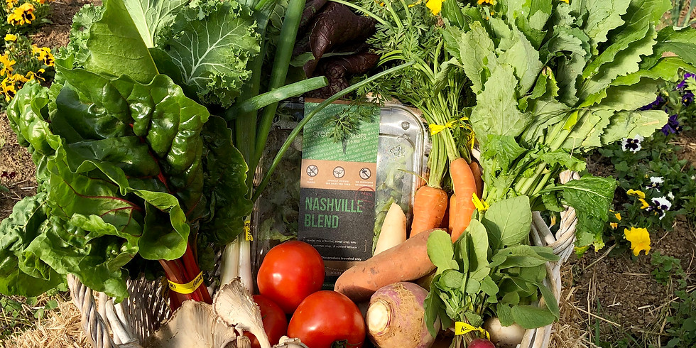 SOLD OUT Heroes' Local Farm Box - Pick Up Saturday 4/4 or Sunday 4/5