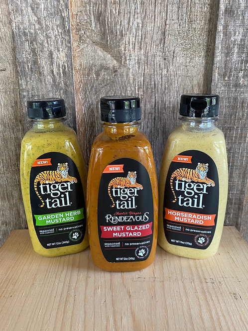 Tiger Tail Mustards - Assorted Flavors