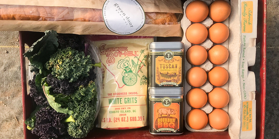 SOLD OUT - Local Provisions Box - Saturday OR Sunday