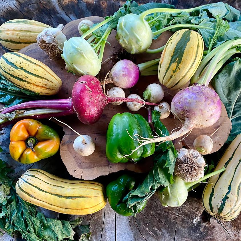 Local Farm Box - Pick Up Saturday 10/24 or Sunday 10/25