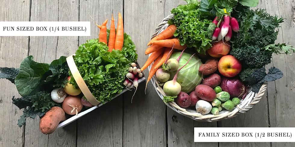 Local Farm Box - Spring/Summer Season Subscription