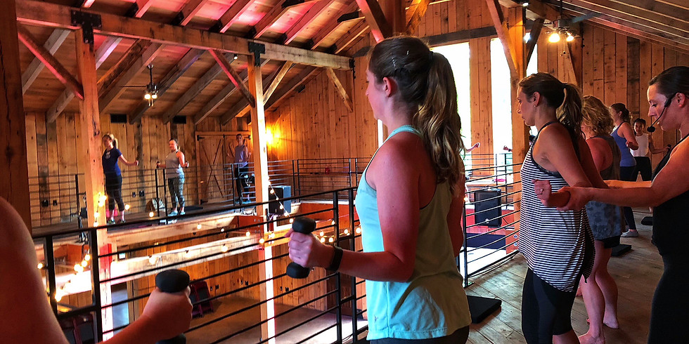 Wellness Wednesday - $5 Barre in the Barn