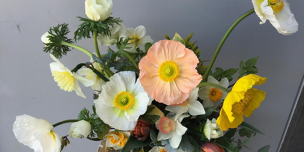 Seasonal Floral Design Workshop: Centerpiece