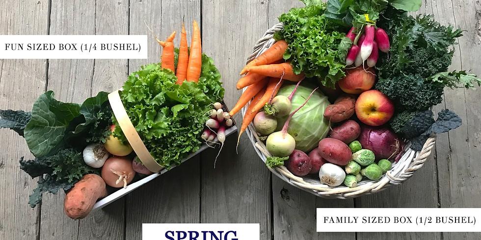 2021 Spring CSA Season Subscription