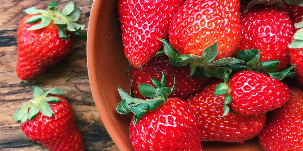 Strawberry Cooking Class with Chef Chris DeJesus of Moto - M Street