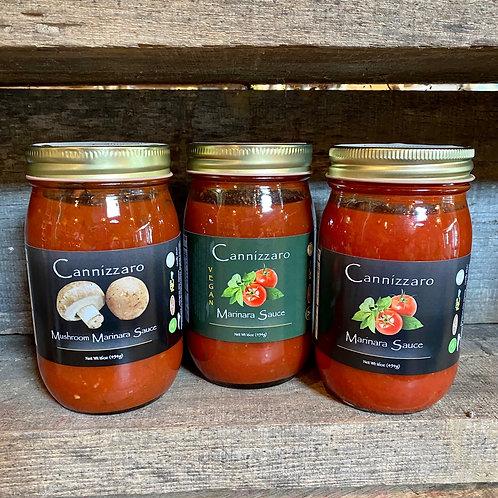 Cannizzaro Pasta Sauces -16 oz