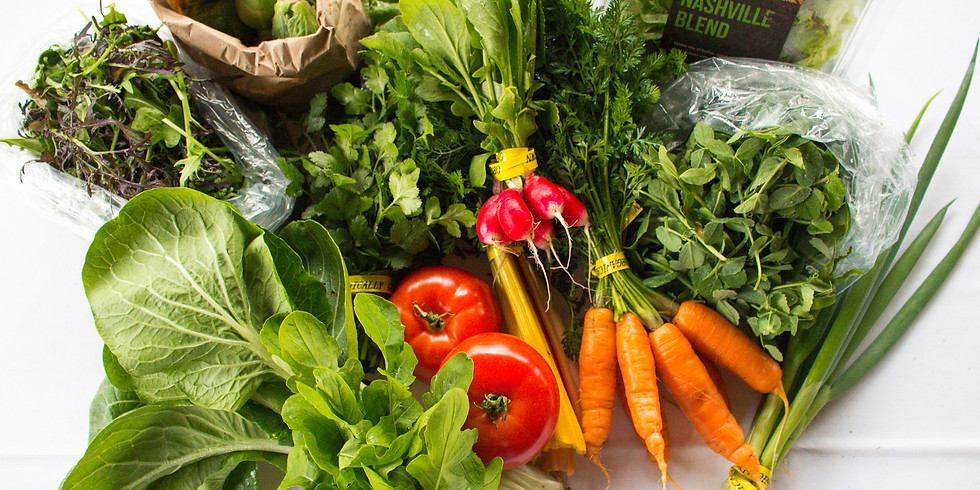 SOLD OUT: Flexible Local Farm Box: 3/21 - 3/22 (Pickup Saturday or Sunday)