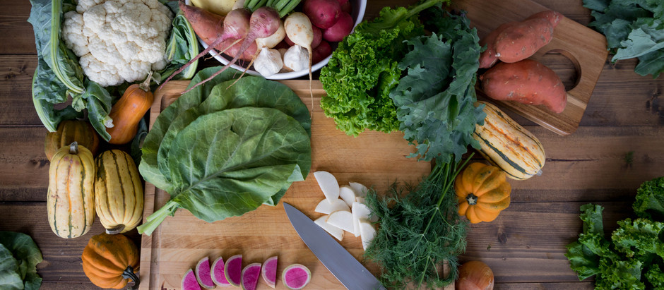 This Week's Fall Local Farm Box