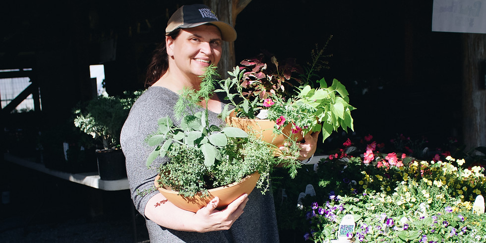 Spring Container Gardening with Sylvia