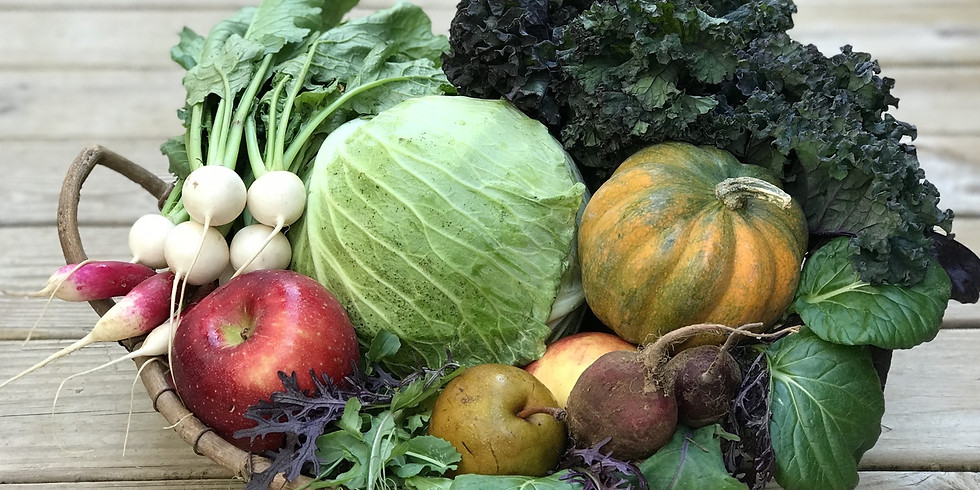 Local Farm Box - Pick Up Saturday 10/17 or Sunday 10/18