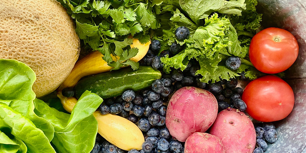 Sold Out! Local Farm Box - Pick Up Saturday 6/27 or Sunday 6/28