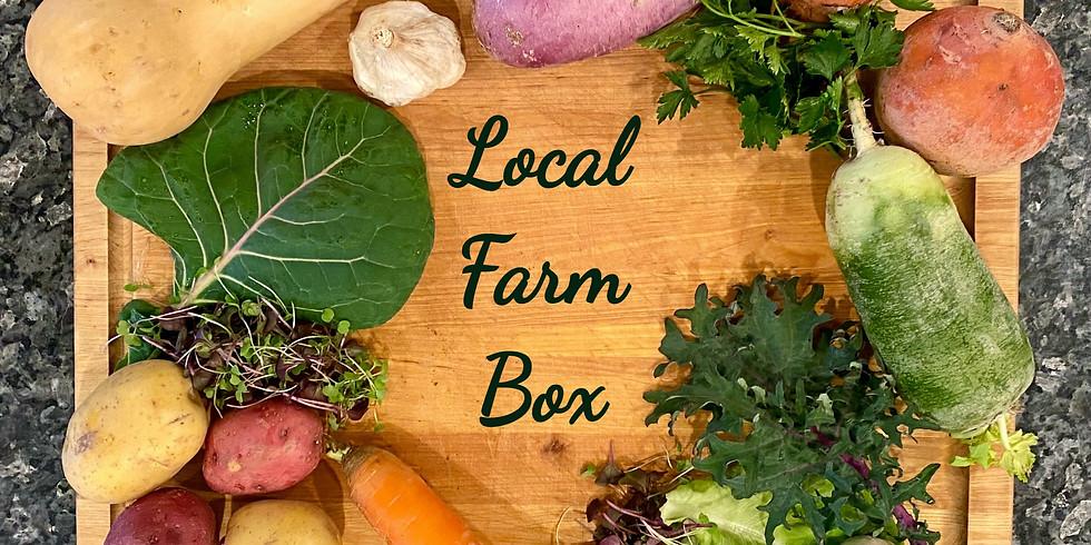 Local Farm Box - Pickup Saturday 1/30 & Sunday 1/31