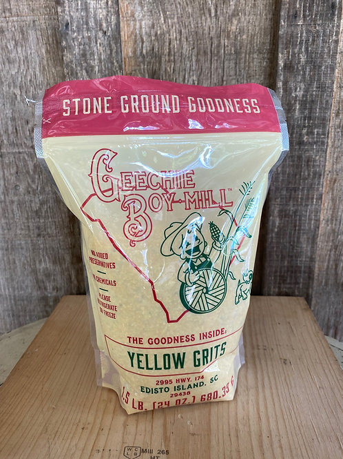 Geechie Boy Mill Yellow Grits