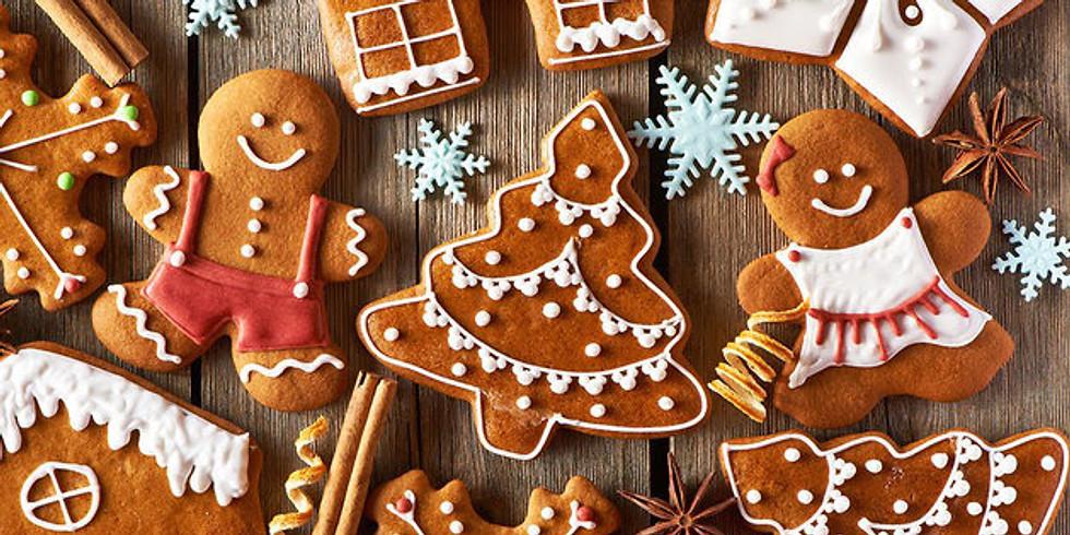 Gingerbread Decorating Workshop with Crumb de la Crumb