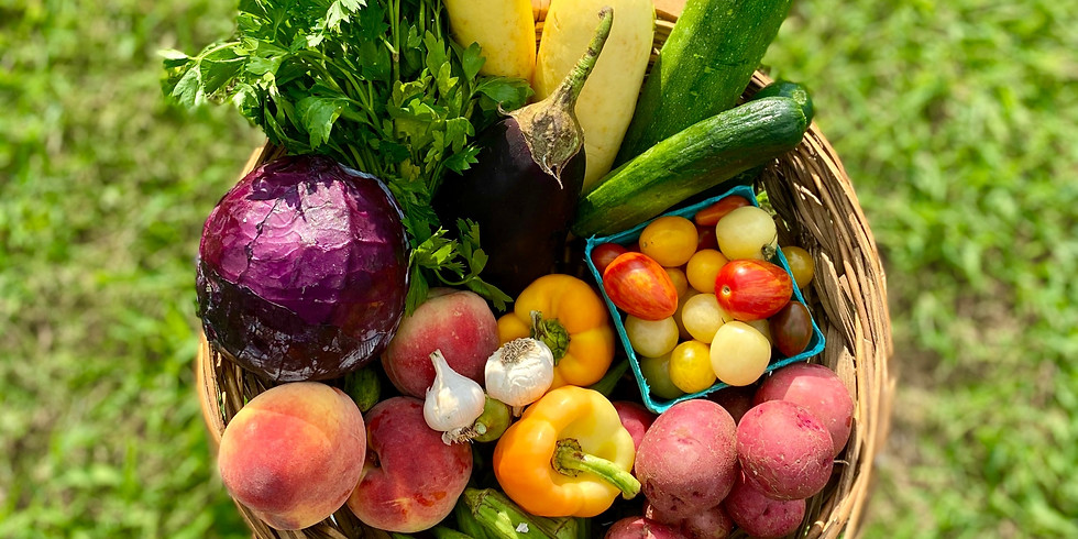 SOLD OUT! Local Farm Box - Pick Up Saturday 8/22 or Sunday 8/23