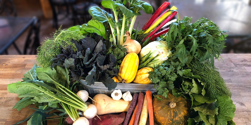 SOLD OUT - Winter Local Farm Box - Saturday or Sunday