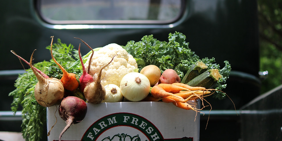 Local Farm Box - Pickup Saturday 6/16 OR Sunday 6/17
