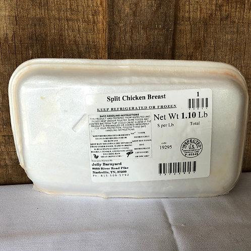 Jolly Barnyard Split Chicken Breasts
