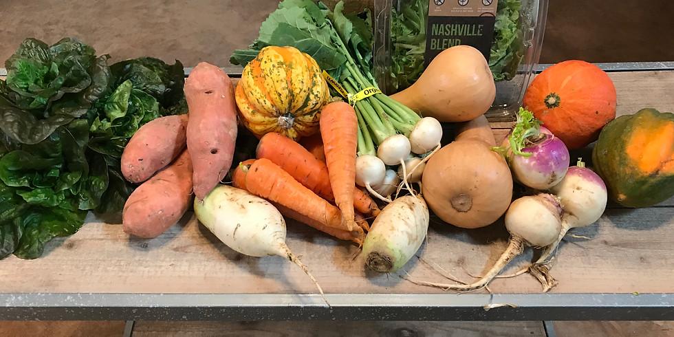 Winter Local Farm Box - Pickup Thursday 2/14, Friday 2/15, Saturday 2/16, Sunday 2/17