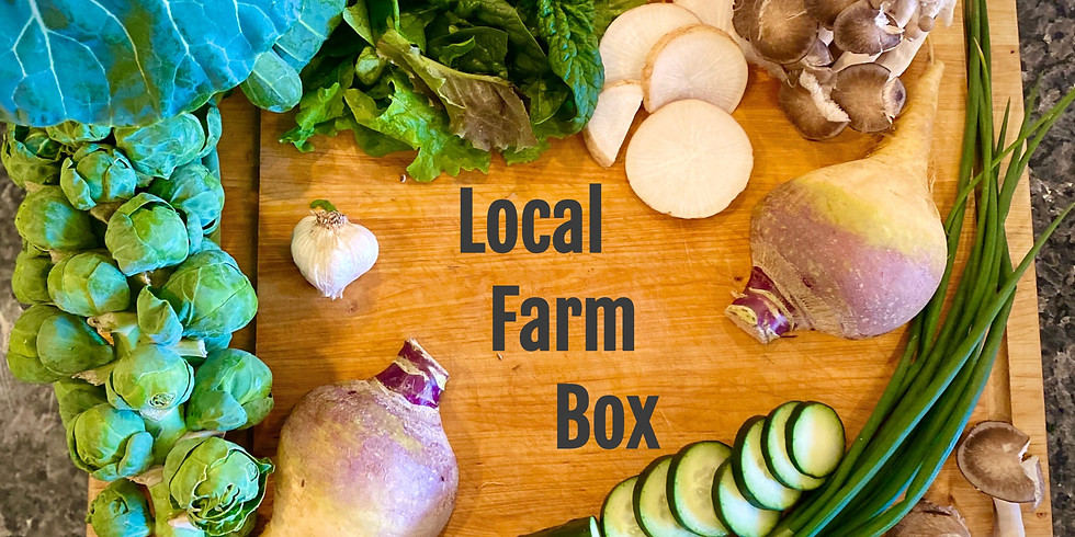 Sold Out! Local Farm Box - Pickup Saturday 2/6 & Sunday 2/7