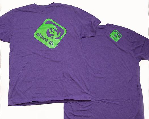 Men's Purple Super Soft Crew Neck T