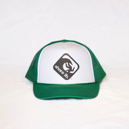 Trucker Hat ~ Black, White and Green