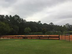Jump training arena at