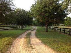 First Flight Farm driveway
