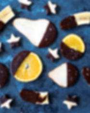 Fruits enrobés de chocolat