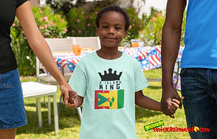 2 Island King Is One Of Our Ranges Designed For All The Caribbean Kings Out There - As Caribbean People, We Are All One People & This Is For All Those Kings & Princes With Roots In 2 Islands - Grenada & St. Vincent. Once Your Roots Is In Either Island Or Your Significant Other Is From One Of Our Beautiful Islands, You Spent Time In Either Island Or You Just Showing Support For A 2 Island King - Then This One Is For You - Get For Kings & Princes Today - Check Out 2 Island Queen For All The Queens & Princesses.