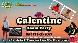 Galentine Zoom Party